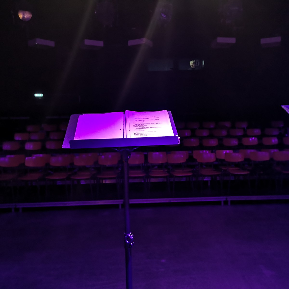 Waiting for theAudience