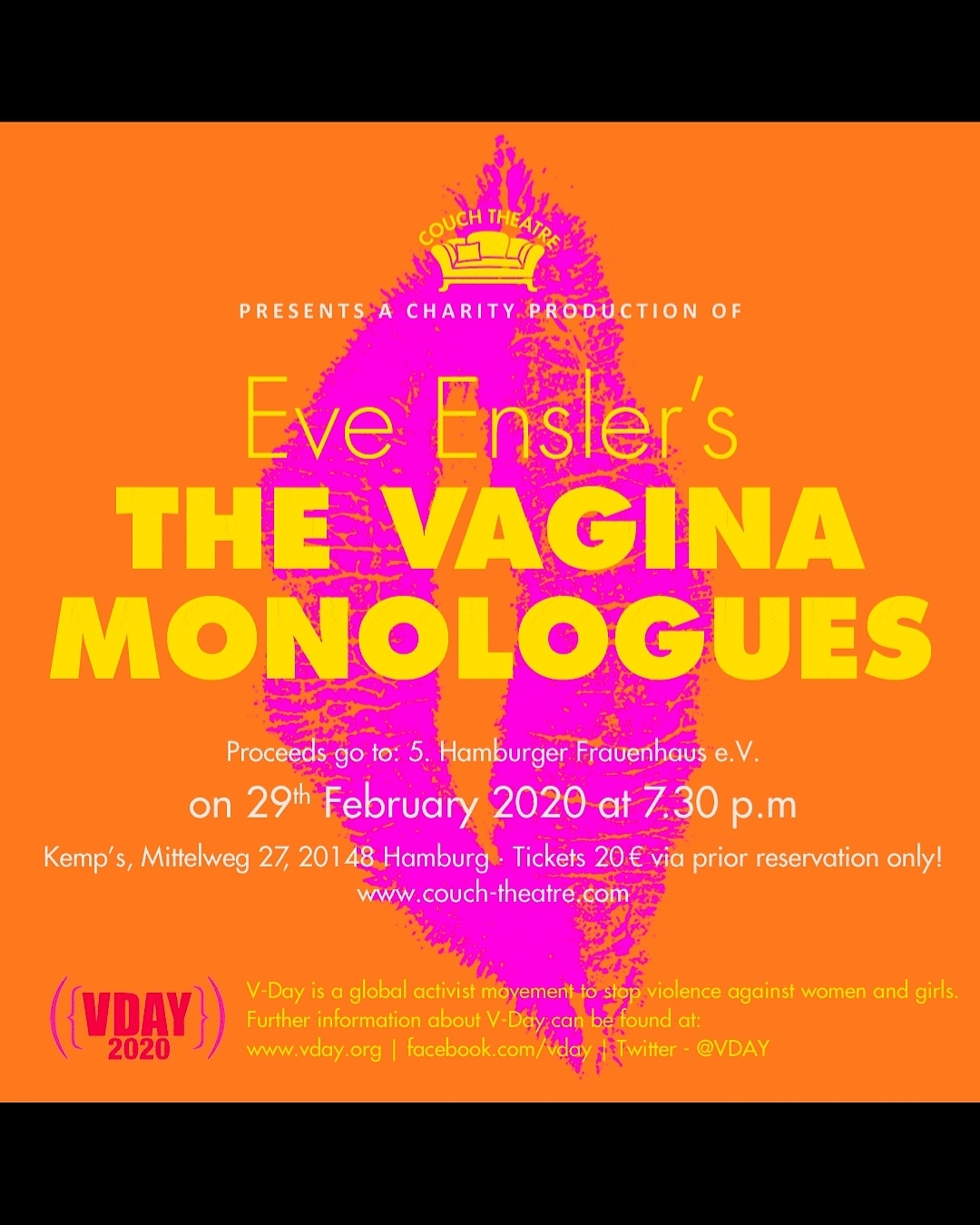 One Year Ago: The VaginaMonologues